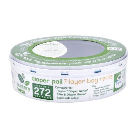 Munchkin Nursery Fresh Diaper Pail Refill 1pk