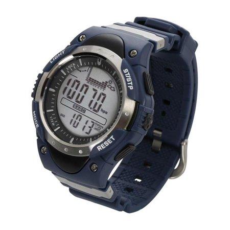 - Sunroad FR716A 3ATM Waterproof Fishing Barometer Watch, Blue
