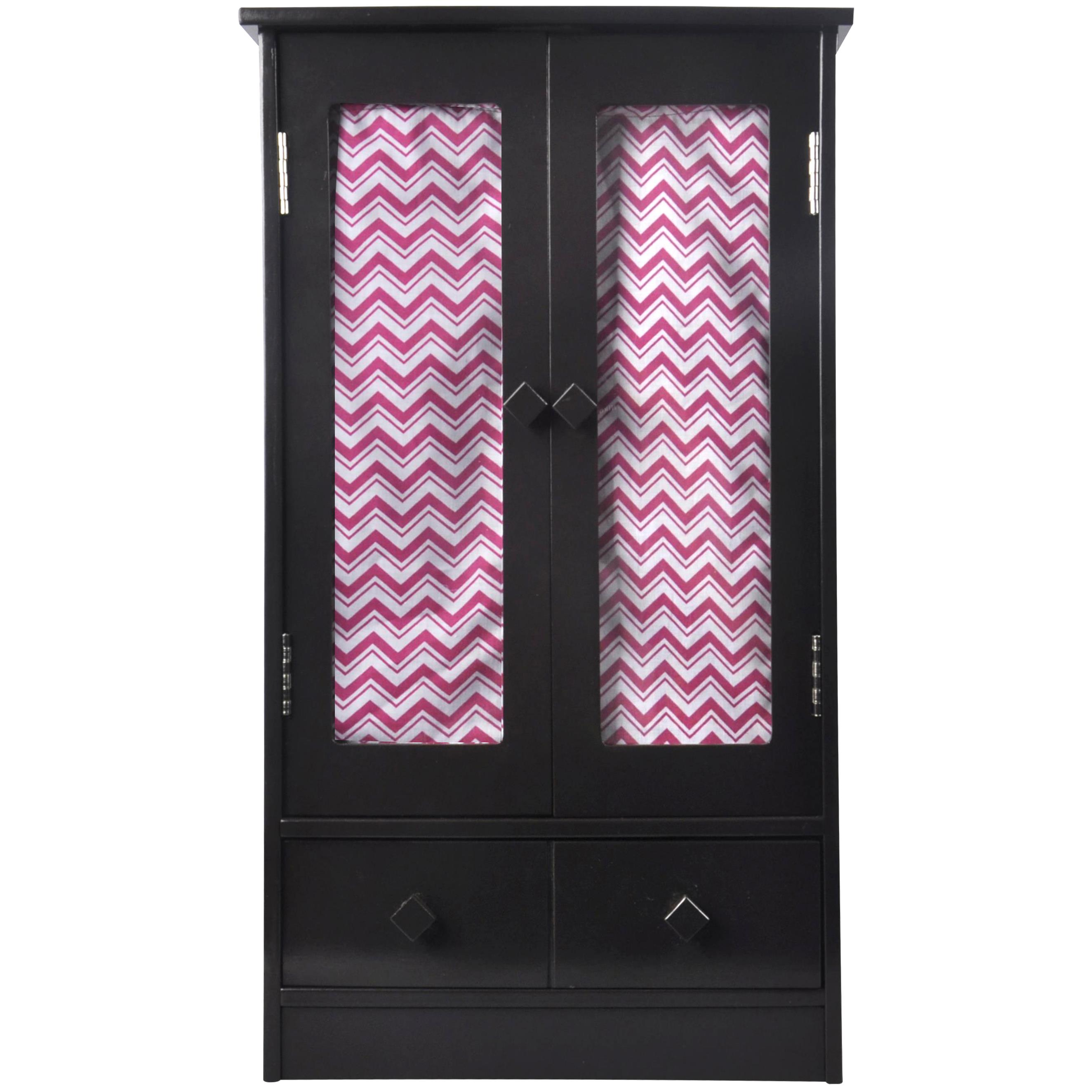 Naomi Kids Doll Armoire-Finish:Espresso