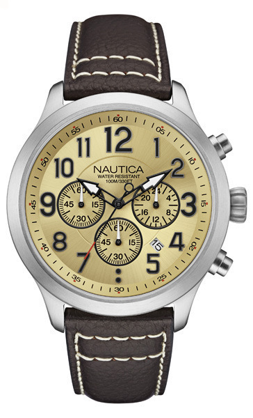 NAUTICA MEN'S WATCH NCC 01 CHRONO 45MM by Nautica