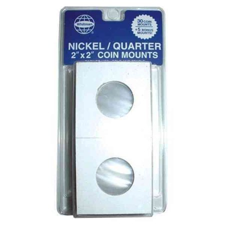 Mylar Nickels (Whitman 35 Count Mylar Nickel & Quarter Coin)