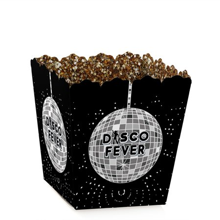 70's Disco - Party Mini Favor Boxes - 1970's Disco Fever or Birthday Party Treat Candy Boxes - Set of 12 for $<!---->