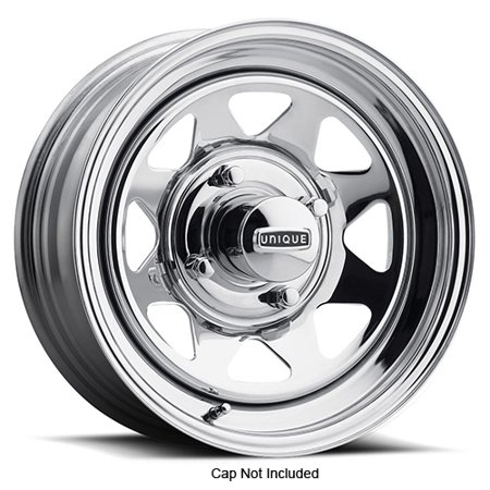 Pacer 27C VW Spoke 15x8 4x130 -25mm Chrome Wheel Rim 15