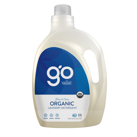 GreenShield Organic Laundry Detergent, Free & Clear, 100 oz ()