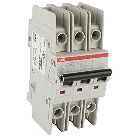Thermal Magnetic Circuit Breaker, Miniature, K Curve, System Pro M Compact SU200M Series, 400 VAC