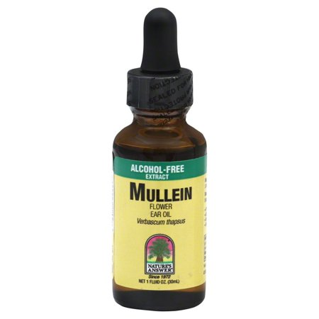 Nature's Answer Mullein Flower Oil, 1 Oz (Mullein Flower Oil Alcohol)