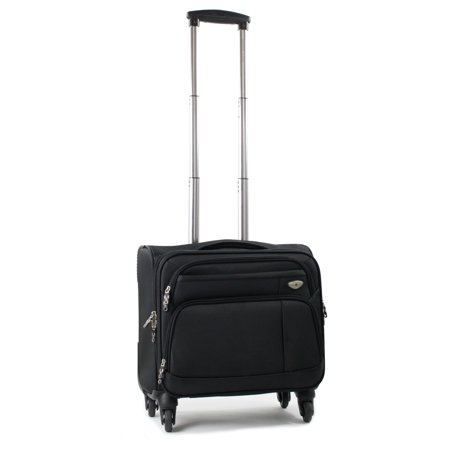 American Green Travel  Carry On 17-inch Laptop Spinner - Carry On Briefcase