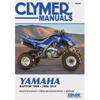 Clymer Motorcycle: Yamaha Raptor 700r 2006-2016 (Paperback)