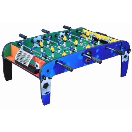 Playcraft Sport 36 Quot Foosball Table With Folding Legs Blue