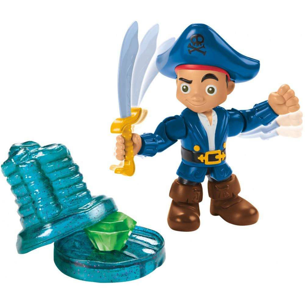 Jake and the Never Land Pirates Buccaneer Battling Captain Jake by Mattel