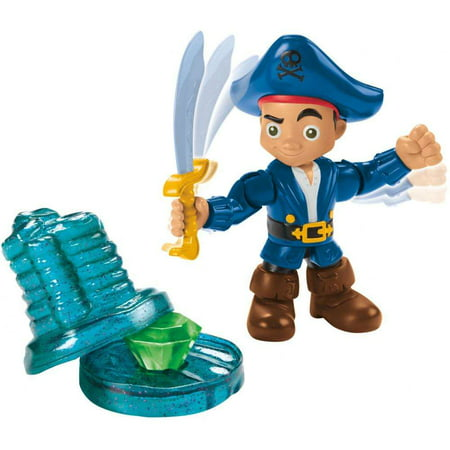 Jake and the Never Land Pirates Buccaneer Battling Captain (Jake And The Neverland Pirates Action Figures)