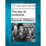 The Law of Contracts.