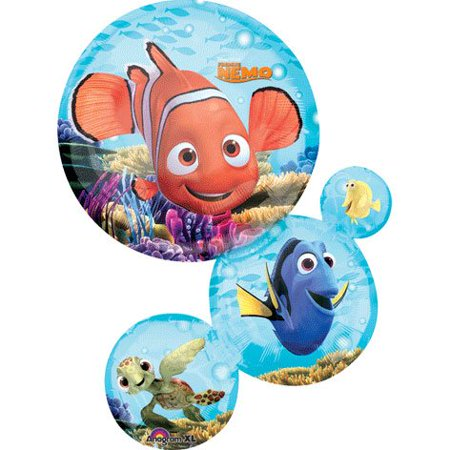 Nemo & Friends Chain Stack 28' Mylar Balloon - Disney Pixar Birthday Party