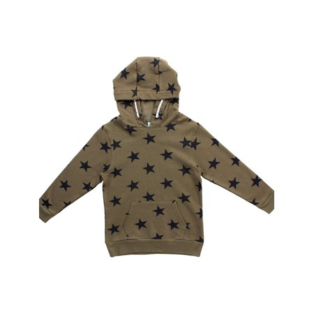 Bear Camp Star Hoodie (Little Boys and Big Boys) Food Kids Sweatshirt