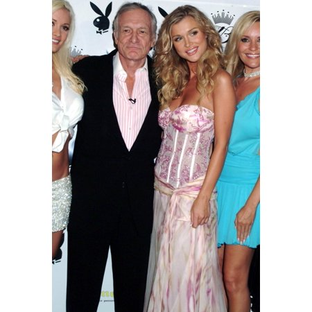 Hugh Hefner Joanna Krupa At Arrivals For Playboy July 2005 Cover Promotion Party Day After 2Morrow Los Angeles Ca June 15 2005 Photo By Tony GonzalezEverett Collection - Hugh Hefner And Playboy Bunny Halloween Costume