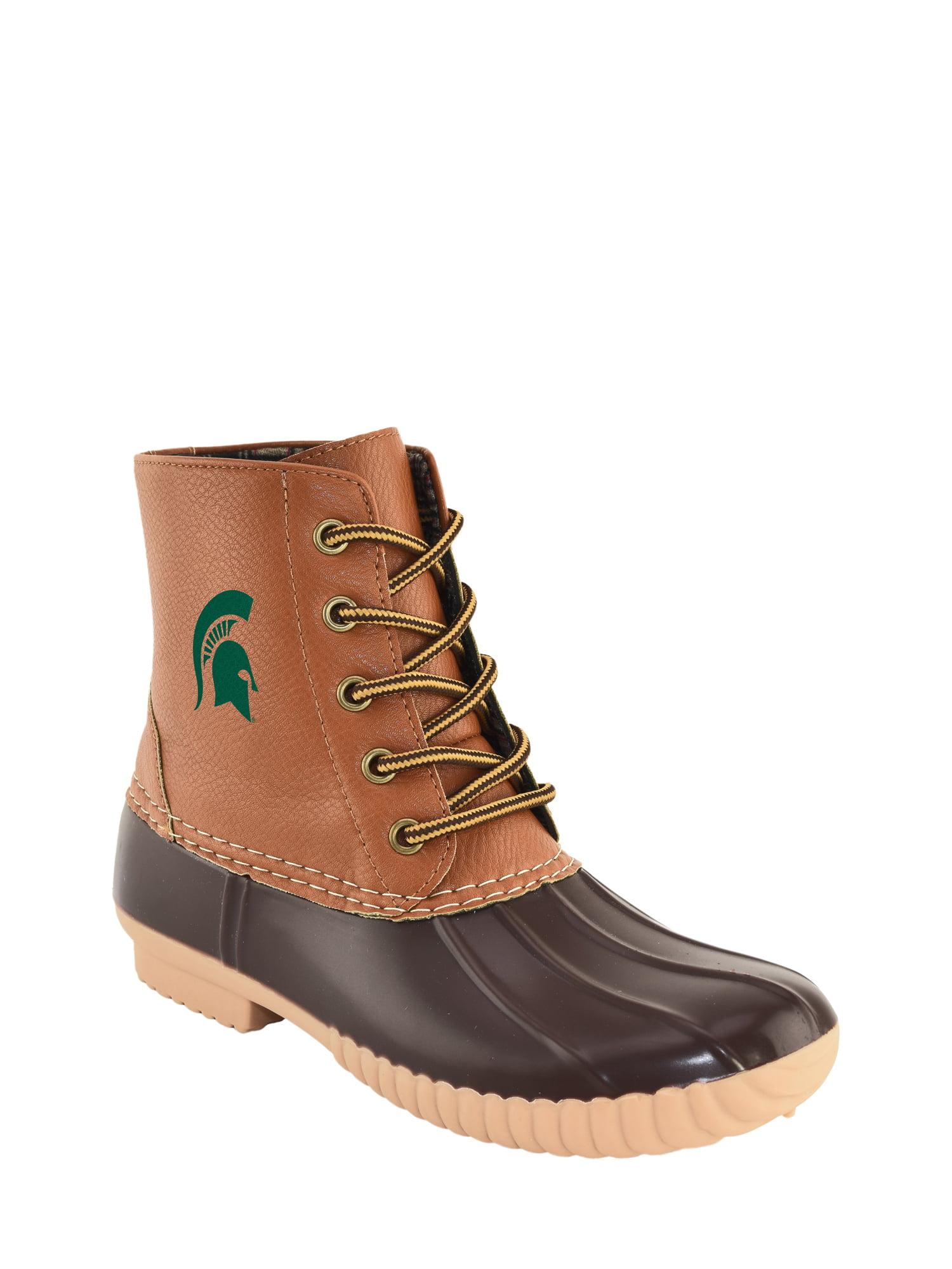NCAA Women's Michigan State -High Duck Boot by Jordache LTD