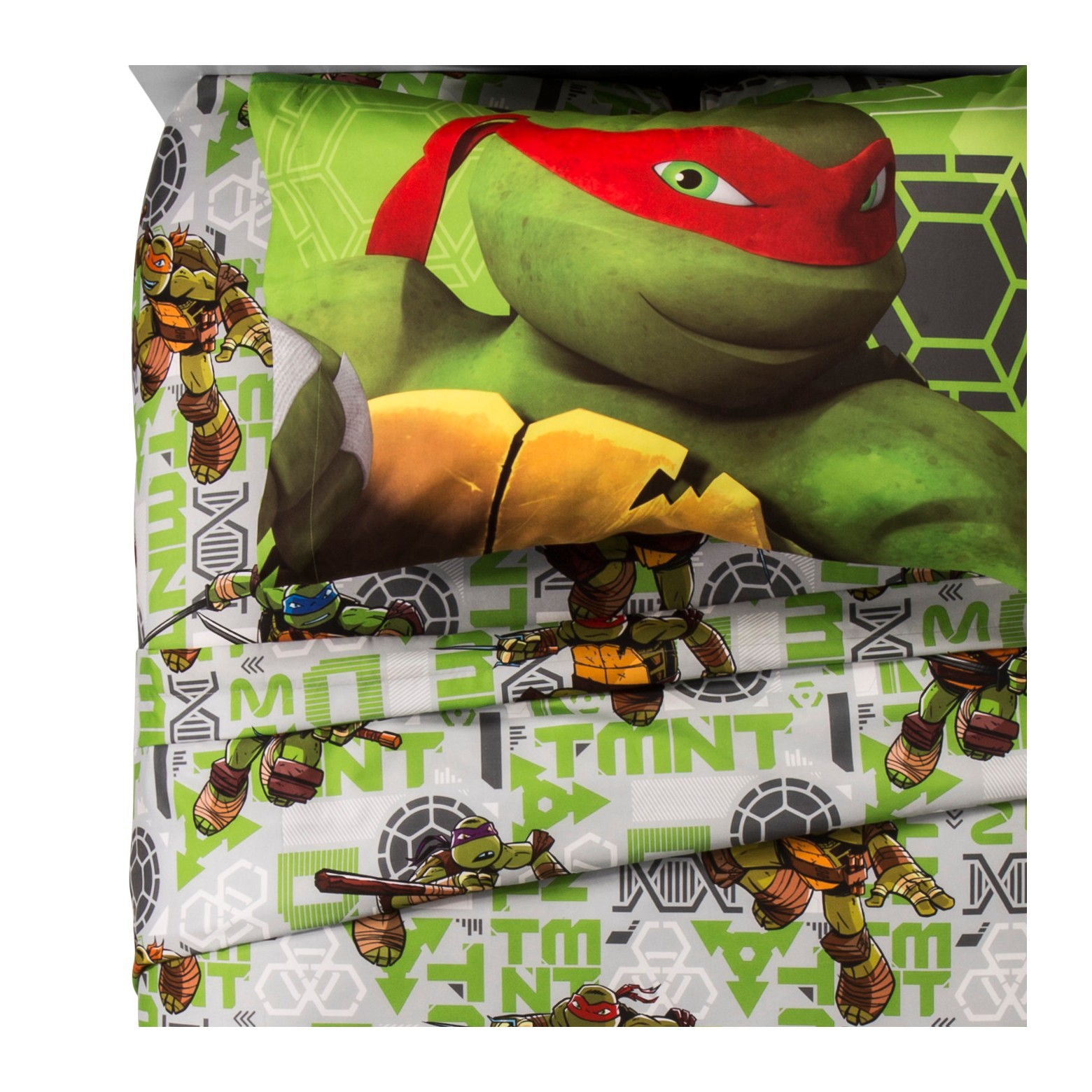 Teenage Mutant Ninja Turtles? Green Sheet Set (Twin)