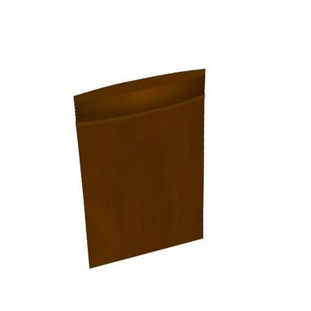 100 Pack of Amber Zip Lock Bags 4