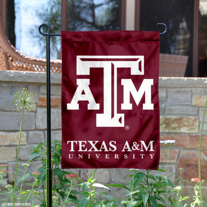 "Texas A&M Aggies 13"" x 18"" College Garden Flag"