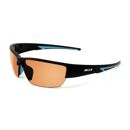 2017 Maxx Sunglasses  Maxx 7 Black Light Blue Frame TR90 HD Lenses - Halloween Light Show 2017 Hd