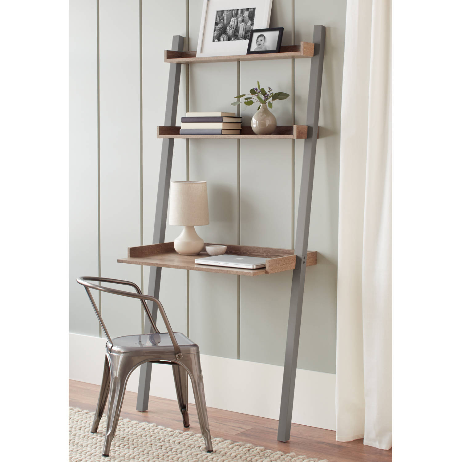 "Better Homes and Gardens 71"" Bedford Leaning Desk"