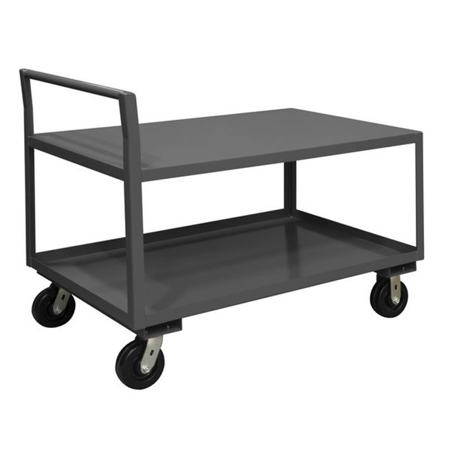 Durham LDO-3048-2-2K-95 48 x 30 x 38.75 in. Low Deck Service Truck with 2 Shelves & Phenolic Casters