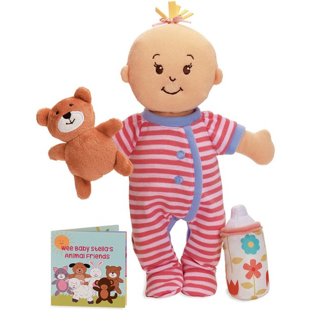 "Wee Baby Stella Sleepy Time Scents 12"" Soft Baby Doll Set"