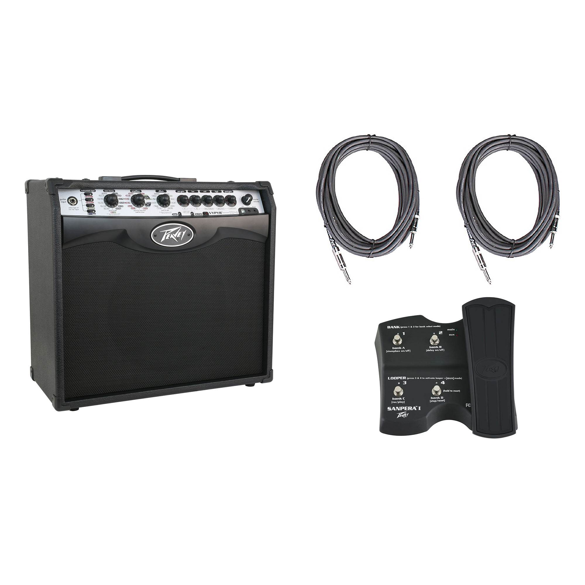 Sanpera I Foot Controller 2 10 Cables Peavey Vypyr VIP 2 Combo Modeling Amp