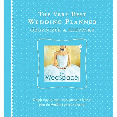 The Very Best Wedding Planner Organizer Keepsake