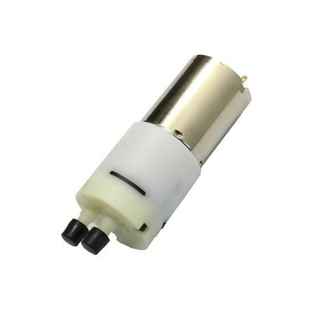 Abs Pump (ABS+ Cu + Fe + steel 370 Motor Micro USB Silent Water Pump White +)