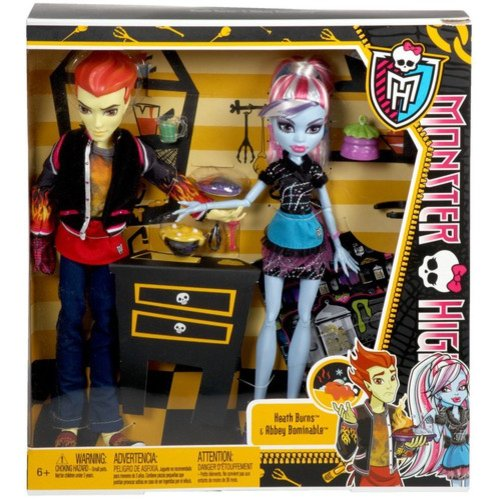 monster high home ick dolls set of 2 abbey bominable and