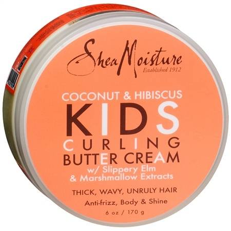SheaMoisture Kids Curl Butter Cream Coconut & Hibiscus 6.0 oz.(pack of 1)