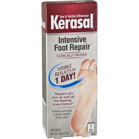 Kerasal One Step Exfoliating Moisturizer Foot Therapy  1 Oz