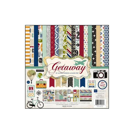 Echo Park Getaway Collection Kit 12X12 - image 1 of 1
