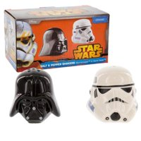 star wars 2pc darth vader & stormtrooper salt & pepper shakers