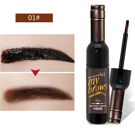 Eyebrow Gel Peel Off Natural Eyebrow Long-Lasting Waterproof Tint Dye Cream (A1-Dark
