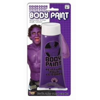 BODY PAINT-3.4OZ-PURPLE - Purple Body Paint