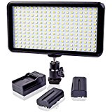 GIGALUMI W228 Led Dimmable High Power Video Light for DSL...