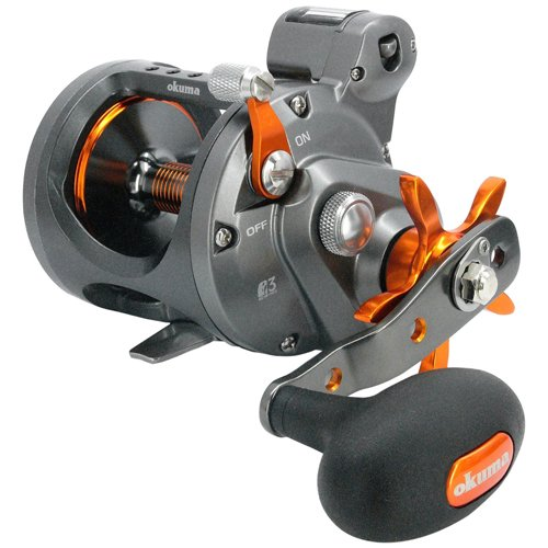 Okuma Cold Water Star Drag Line Counter 5.1:1 Conventional Fishing Reel, Right Hand - CW-153D