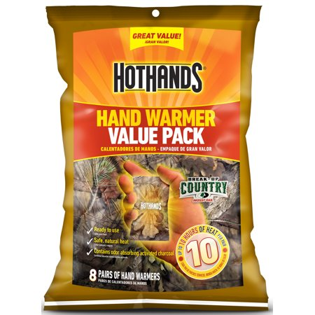 HotHands Camo Warmers Value Pack, 8 Pair