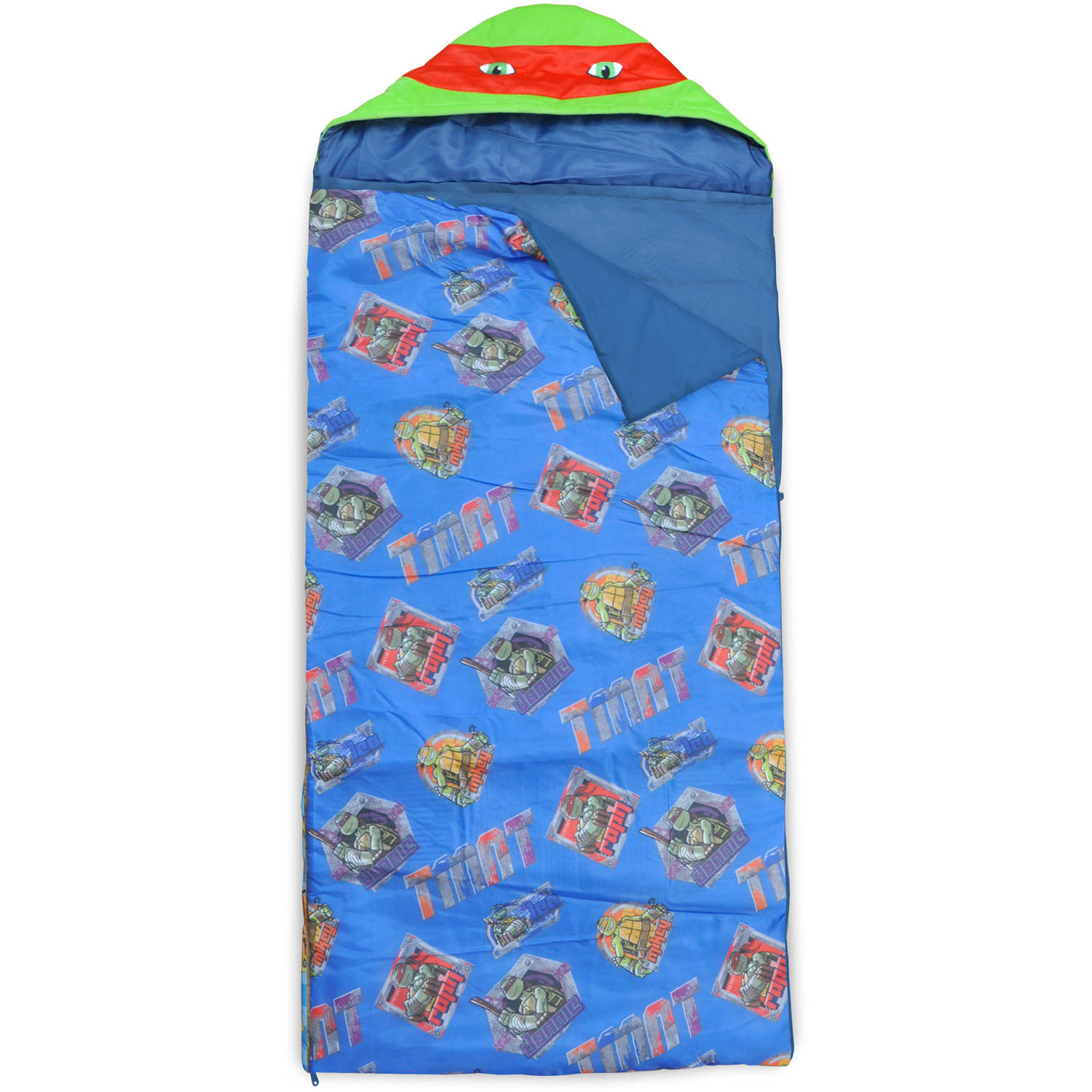 Nickelodeon Teenage Mutant Ninja Turtles Hooded Sleeping Bag Sack