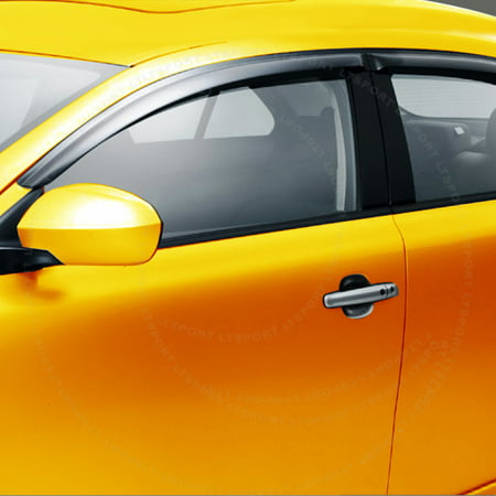 Fit 02-06 Nissan Altima window visor shade vent wind rain deflector For 02 03 04 05 06 2002 2003 2004 2005 2006 Altima Lower Wind Deflector