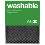 AIRx Filters Washable 16x20x1 Permanent Air Filter MERV 1 Heavy Duty Steel Mesh Filter Replacement to Replace Filtrete Basic Filter, 1-Pack