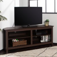 Deals on Woven Paths Transitional Corner TV Stand