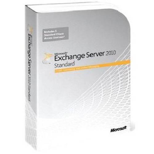 Microsoft Exchange Server Standard 2010 64-Bit Edition, 5 Clients by Microsoft