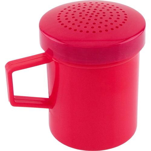 Shaker/Dredge, Plastic Red