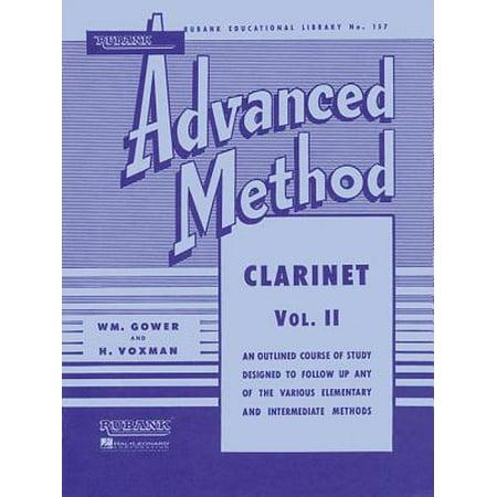 Rubank Advanced Method - Clarinet Vol. 2
