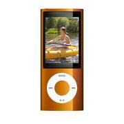 Apple iPod Nano 5th Generation 16GB Orange Bundle, Like New No Retail Packaging!