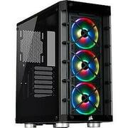 Corsair iCUE 465X RGB Mid-Tower ATX Smart Case Black CC9011188WW