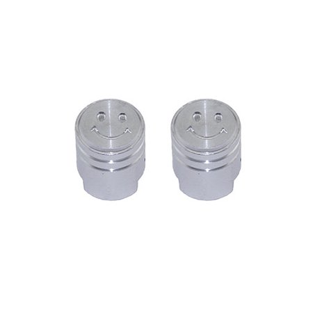 PISTON WITH SMILE BIKE BICYCLE VALVE CAP CHROME. Schrader/Valve. Bike part, Bicycle part, bike accessory, bicycle part